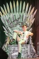 Jack Gleeson ist als König Joffrey Baratheon ist einer der meistgehassten Charaktere in Game of Thrones, Foto: Tobias Schad