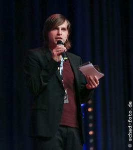 Der Moderator des Abends, Foto: Tobias Schad