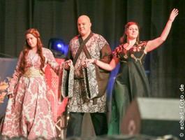 Sansa, Varys und Margaery, die Gewinner der Gruppenwertung, Foto: Tobias Schad