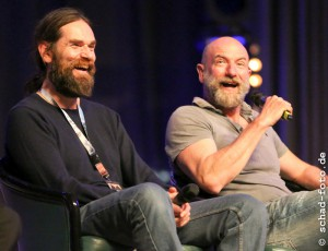 Duncan Lacroix (Murtagh Fraser), Graham McTavish (Dougal MacKenzie), Foto: Tobias Schad