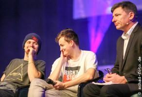 Finn Jones (Loras Tyrell), Jack Gleeson (Joffrey Baratheon), Mark Ferguson, Foto: Tobias Schad