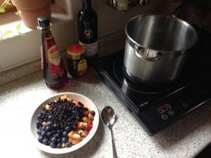 Sirup kochen