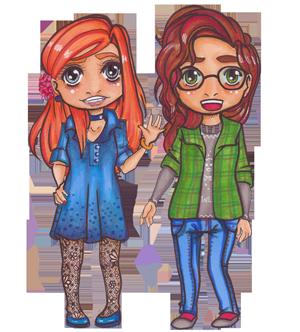 Ully und Sara von MissGeek