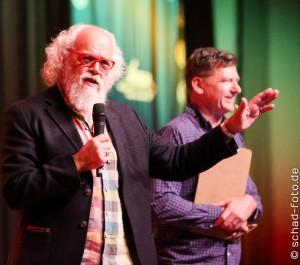 Das Panel von John Callen und William Kircher, Foto: Tobias Schad