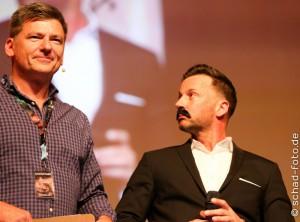 Panel mit Mark Ferguson und Craig Parker, Foto: Tobias Schad