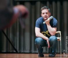 Panel von Mark Atkin, Foto: Tobias Schad
