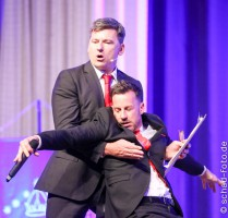 Mark Ferguson und Craig Parker, Foto: Tobias Schad