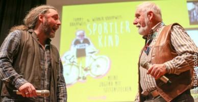 """Werner und Tommy Krappweis Buchpremiere """"Sportlerkind"""", Foto: Tobias Schad"""