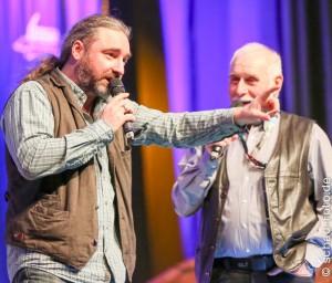 HobbitCon 2016, Maritim Hotel Bonn, Tommy und Werner Krappweis, 03.04.2016, www.schad-foto.de Foto: Tobias Schad