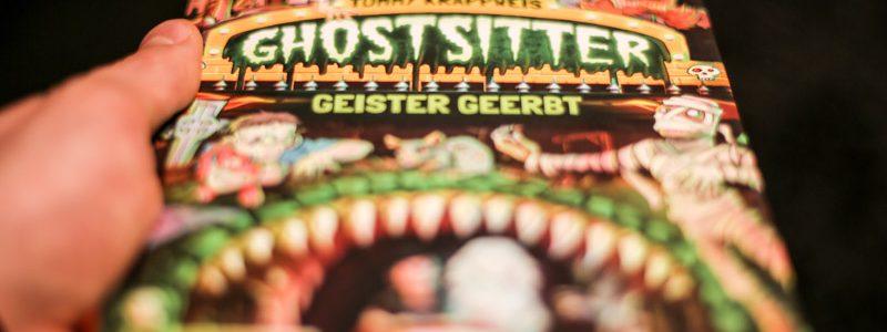 Rezension: Tommy Krappweis – Ghostsitter: Geister geerbt.