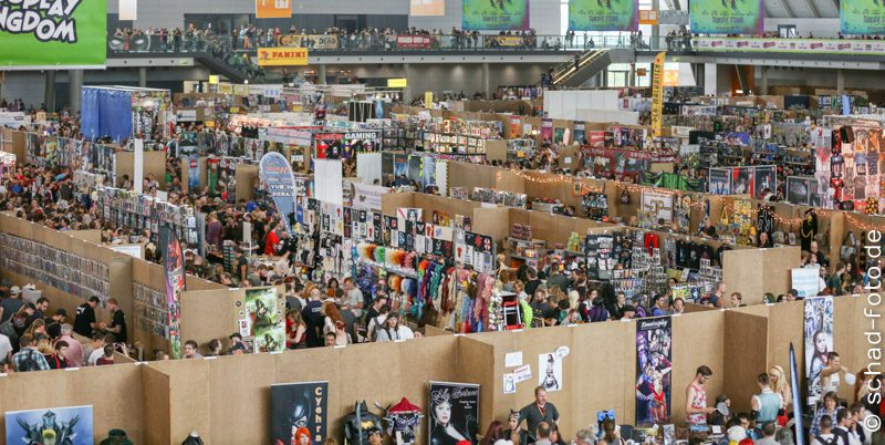 Das große Getümmel – ComicCon Germany 2016