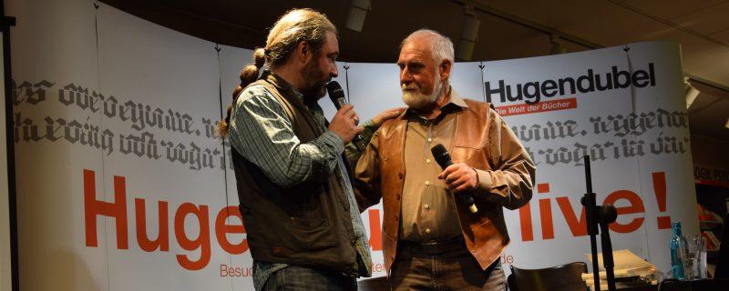 (K)ein Sportlerkind in Erfurt – Tommy und Werner Krappweis zu Besuch zur Herbstlese