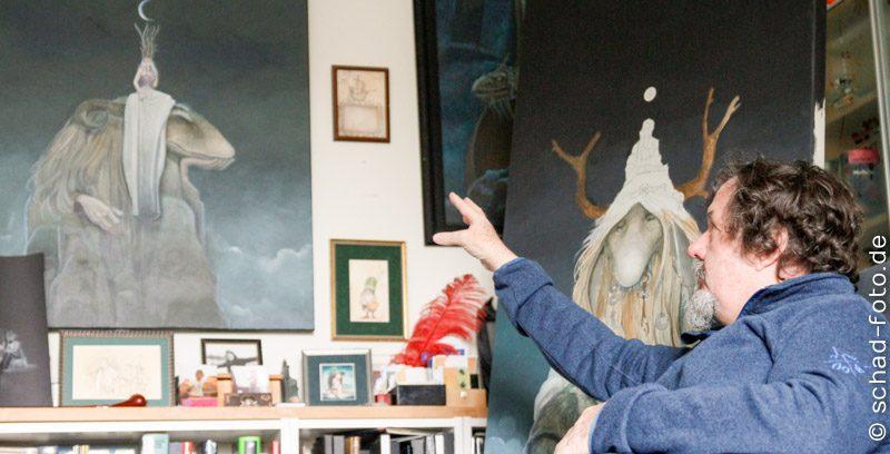 Künstler-Interview: Poul Dohle